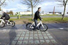 Inauguran ciclovías ecológicas en Holanda capaces de producir energía solar