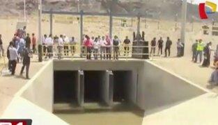 Presidente Ollanta Humala inauguró proyecto Olmos en Lambayeque