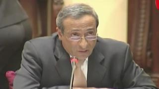 Contralor expuso plan anticorrupción ante la Comisión de Justicia del Congreso