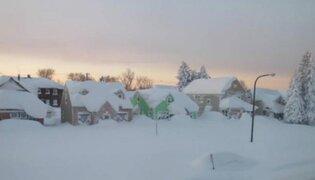 Estados Unidos: inusual ola de frío deja siete muertos