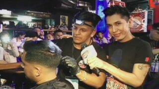 Enemigos Públicos presente en el primer concurso nacional de barberos