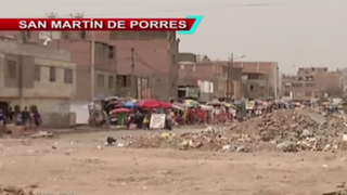 SMP: vecinos denuncian que municipio abandonó obras de boulevard