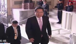 Fiscal Ramos negó presionar a Comisión de Ética en contra de Mesías Guevara
