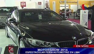 Motorshow 2014: sepa entre qué montos varían los precios de los autos