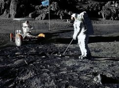 "La Nasa reveló listado con la basura ""olvidada"" por los astronautas en la Luna"