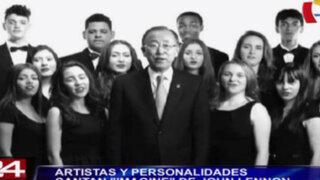 Artistas y personalidades cantan 'Imagine' de John Lennon