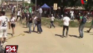 Elecciones en universidad de Tarapoto terminó en batalla campal