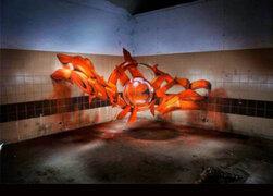 FOTOS: 15 impresionantes 'ilusiones ópticas' del grafiti en 3D