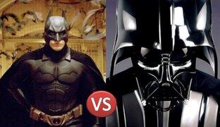 VIDEO: mira la intensa y alucinante pelea entre Batman y Darth Vader