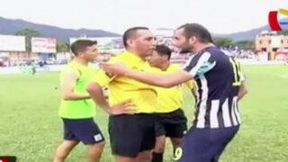 Bloque Deportivo: trifulca tras encuentro que perdió Alianza 1-0 ante Unión Comercio