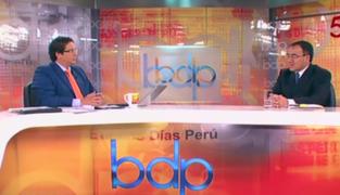 """Ministro José Gallardo: """"El transporte en Lima y Callao necesita una sola autoridad"""""""