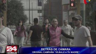 Así fueron las grabaciones de la campaña protagonizada por Natalia Málaga