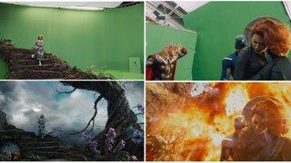 FOTOS: así se ven las escenas de grandes películas antes de los efectos especiales