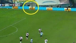 Argentina: Un fantasma aparece en partido entre Racing y River Plate