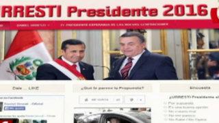 Lanzan a Daniel Urresti a la presidencia a través de redes sociales