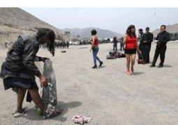 Grupo Terna: Policías entrenan disfrazados de vendedores y mendigos