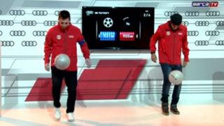 Duelo de gigantes: Messi y Neymar deslumbraron con dominio del balón