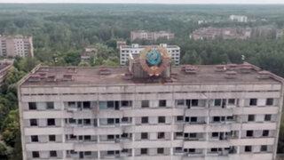 VIDEO: drones sobrevuelan Chernobyl 28 años después de la explosión nuclear
