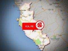 Ica: sismo de 4.8 se registró esta mañana San Juan de Marcona