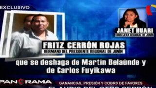 El audio del otro Cerrón: ganancias, presión y cobro de favores de Martín Belaúnde