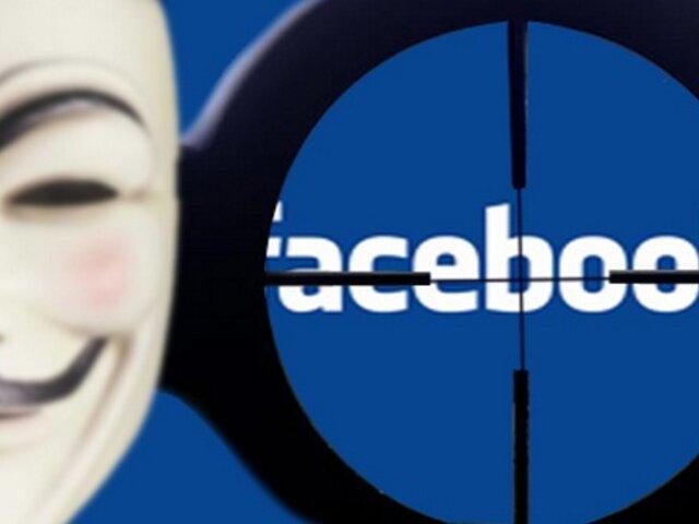 Anonymous descarta posible ataque contra Facebook este miércoles