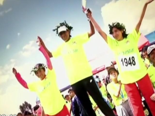 Panamericana Running: la 'olímpica' Wilma Arizapana