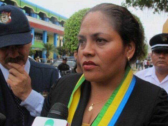 Policía busca a la alcaldesa de Tumbes tras orden de prisión preventiva