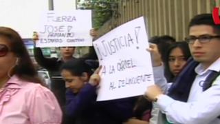 Familiares de estudiante atropellado por cadete del Ejército exigen justicia