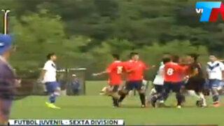 Argentina: juveniles de Vélez Sarsfield e Independiente se agarraron a golpes