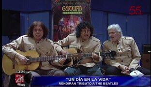 """Banda """"Un día en la vida"""" rendirá tributo a The Beatles este 7 y 8 de diciembre"""