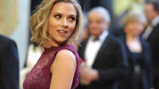 Actriz Scarlett Johansson se habría casado en secreto el pasado mes de octubre
