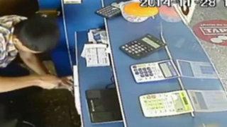 Arequipa: asaltan casa de cambio y se llevan 80,000 soles