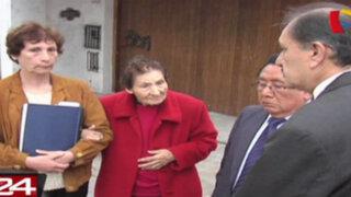 Anciana denuncia estafa y se disputan casa de 2500 metros cuadrados en Monterrico