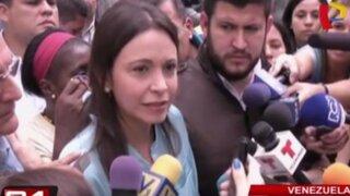 Venezuela: denuncian a ex diputada opositora por conspiración