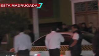 Miraflores: hombre resulta herido de bala tras gresca en conocida discoteca