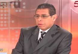 """César Azabache: """"Es inoportuno discutir eventual colaboración eficaz de Belaúnde Lossio"""""""