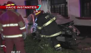 Santa Beatriz: accidente de tránsito deja una mujer herida, conductor habría estado ebrio