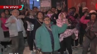 Cercado de Lima: al menos 4 heridos y 20 detenidos deja gresca en galería