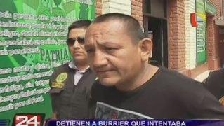 La Victoria: Capturan a burrier que pretendía llevar droga a Chile