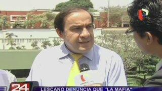 """Yonhy Lescano denuncia que """"mafia"""" lo sigue perjudicando"""
