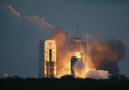 La Nasa: lanzan con éxito Orión, el prototipo de cápsula para viajar a Marte