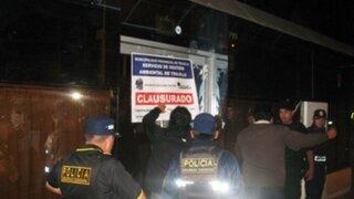 Intervienen y cierran locales nocturnos en Cajamarca