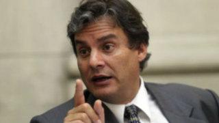 Daniel Figallo dice que buscan desestabilizar al Minjus tras audio con Vilcatoma