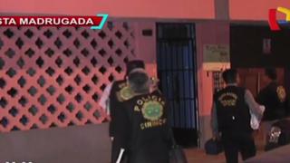 SMP: sujeto celoso asesinó de un disparo a pareja en presencia de su hijo