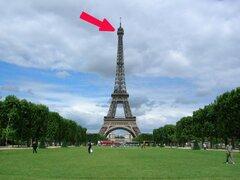 FOTOS: mira el maravilloso secreto que esconde la Torre Eiffel en lo más alto