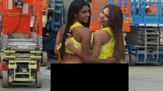 FOTOS: Rocío Miranda y Stephanie Valenzuela presentan sexy calendario