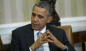 Barack Obama lamenta tiroteos en Estados Unidos