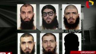 Presos por terrorismo llegan a Uruguay desde la cárcel de Guantánamo