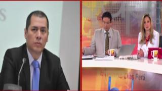 """Christian Salas: """"Existe interés indebido del ministro Figallo. Debe renunciar al cargo"""""""