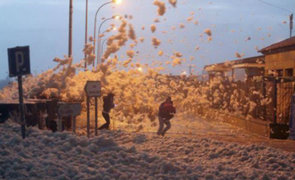 España: fuertes vientos dejan tres muertos y varios heridos